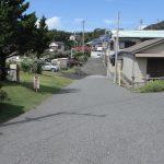 南西側道路(外観)
