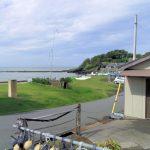 館山(船形)目の前砂浜の海
