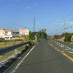 県道からの入り口(周辺)