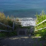 海岸への階段(周辺)