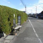 バス停目の前 東京行高速バス(周辺)