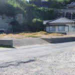 館山(布良)高台!大島と富士山を望む海一望の景勝地・磯の海岸迄40m